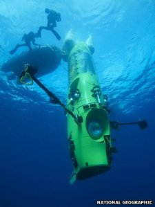James Cameron, Ambient Pressure Diving, APD, rebreather, Deepsea Challenge, Mariana Trench, Richard Branson, Poseidon Poseidon Mark VI, exploration, deep sea diving