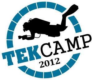 TEKCamp, Rich Walker, Vobster Quay, Rosemary E Lunn, Roz Lunn, The Underwater Marketing Company, Mark Powell, Paul Toomer, Martin Robson, Phil Short, Duncan Price, Wookey Hole, skills, buoyancy control, D-SMB, British diving, UK Diving, diving skills, Kevin Gurr, rebreathers