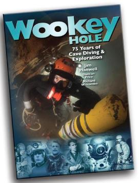 William B. Oigarden, Barry University, Richard Stanton, Rick Stanton, Martyn Farr, Sheck Exley, Wookey Hole, Graham Balcombe, Light Monkey, Cave Diving Group, CDG, Swildons, Mike Thomas,