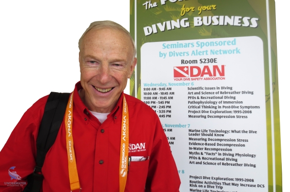 Dr Richard D Vann_Rebreather Forum 3_RF3_NOGI Award for Science_Rosemary E Lunn_Roz Lunn_The Underwater Marketing Company_flying after diving reserach_Dr Neal W Pollock_diving physiology