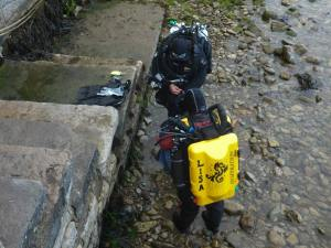 Rosemary E Lunn, Roz Lunn, The Underwater Marketing Company, Lisa Shafe, St Albans BSAC, Poseidon Rebreathers, diving Swanage, SS Kyarra, Shearwater Petrel, O'Three drysuits, AP Diving