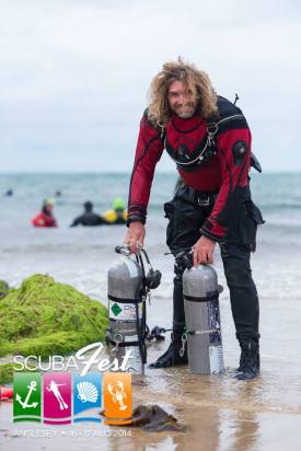 Anglesey ScubaFest.2014, Garry Dallas, Simply Sidemount, Jason Brown, Rosemary E Lunn, Roz Lunn, The Underwater Marketing Company, Fusion Drysuit, Dean Martin, Bardo Photographic,