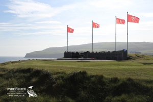 TSS Mona's Queen III Anchor Memorial, Kallow Point, Isle of Man, Port St Mary, King Orry, Fenella, Discover Diving, Isle of Man Steam Packet Company, Rosemary E Lunn, Roz Lunn, The Underwater Marketing Company, Scuba diving days out, Rained off, Pam Evans, Dunkirk survivors