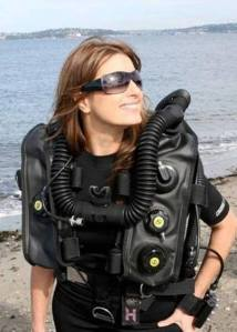 Laura James, Oris Watch, Scuba Diving Magazine, Puget Sound, GUE, Megalodon rebreather, Rosemary E Lunn, Roz Lunn, The Underwater Marketing Company, Sea Hero, Emmy award, underwater cinematographer, environment, Jill Heinerth, Annie Crawley
