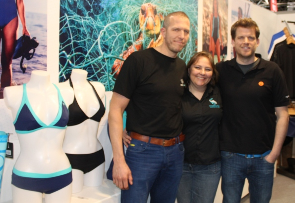 Fourth Element, Ocean Positive, Rosemary E Lunn, Roz Lunn, The Underwater Marketing Company, Boot Show, Pascal van Erp, recycled clothing, EUROTEK advanced diving conference