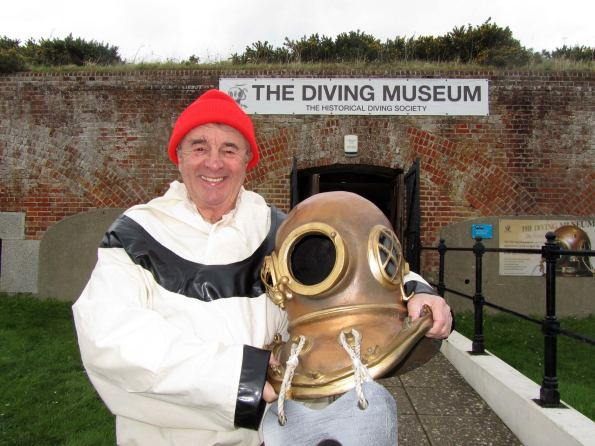 The Diving Museum, HDS, Historical Diving Society, John Bevan, Daily MIrror, Visit England Tourism Superstar award, Rosemary E Lunn, Roz Lunn, The Underwater Marketing Company