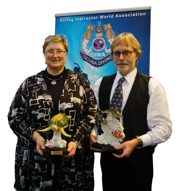 DIWA, Diving Instructor World Association, scuba diving awards, X-Ray Mag, Wolfgang Thoma, Taucher.Net, Rico Besserdich, Rose Kefrig, Udo Kefrig, Friedrich Naglschmid, Vladimir Putin, Uwe Fleischmann, Henry Jager, Sabine Kerkau, Peter Symes, Rosemary E Lunn, Roz Lunn, The Underwater Marketing Company