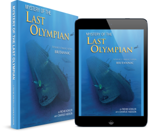 Last Olympian, Our World Underwater Chicago, Rosemary E Lunn, Roz Lunn, The Underwater Marketing Company, Richie Kohler, Rebreather Forum 3, O'Three Drysuits, scuba diving, wreck diving