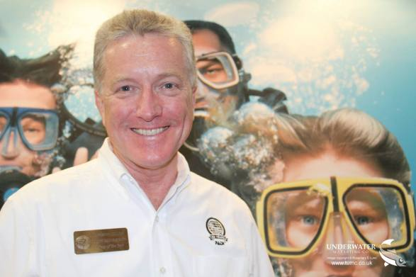 Dr Drew Richardson, PADI CEO, scuba diving, Beneath the Sea Awards, Diver Of The Year, Rosemary E Lunn, Roz Lunn, scuba show, dive show, The Underwater Marketing Company, RF3, Rebreather Forum 3