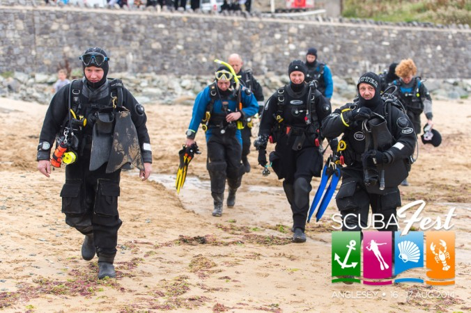 Anglesey ScubaFest, scuba diving in Wales, Rosemary E Lunn, Roz Lunn, Jason Brown, The Underwater Marketing Company,