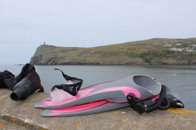 Boat fins, scuba diving fins, diving Isle of Man, Rosemary E Lunn, Roz Lunn, The Underwater Marketing Company