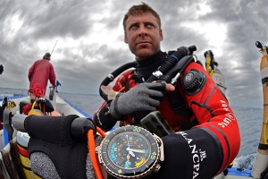 Blancpain, Laurent Ballesta, Coelacanth, EUROTEK, AP Diving, advanced diving, technical diving, Rosemary E Lunn, Roz Lunn, The Underwater Marketing Company