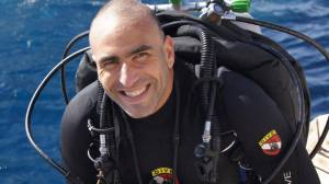 Ahmed Gabr, EUROTEK, advanced diving conference, scuba show, deepest diver, depth record, Rosemary E Lunn, Roz Lunn, The Underwater Marketing Company, scuba news, diving PR