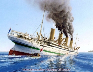 The Last Olympian, HMHS Britannic, Ken Marschall, Rosemary E Lunn, Roz Lunn, The Underwater Marketing Company, Violet Jessop