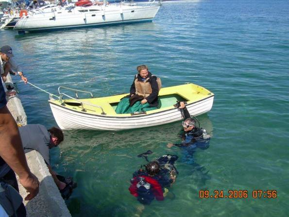 Britannic, Violet Jessop, Titanic, Simon Mills, Rosemary E Lunn, Roz Lunn, Richie Kohler, Petar Denoble, Evan Kovacs, scuba diving jobs,
