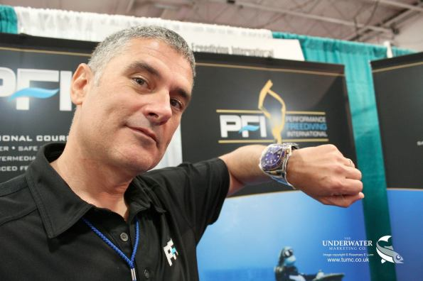 Kirk Krack, DAN Rolex Award, Rosemary E Lunn, Roz Lunn, The Underwater Marketing Company, diving safety, freediving expert