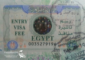 Rosemary E Lunn, Roz Lunn, The Underwater Marketing Company, Egyptian Visa Price Rise, holidays to Red Sea, scuba diving, Egypt,