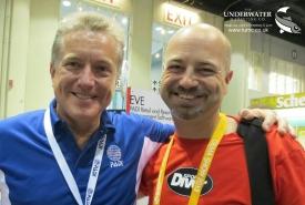 Drew Richardson, PADI, Mark Evans, Sport Diver Magazine, Scuba Diver Magazine, Rosemary E Lunn, Roz Lunn, The Underwater Marketing Company, DEMA Show,