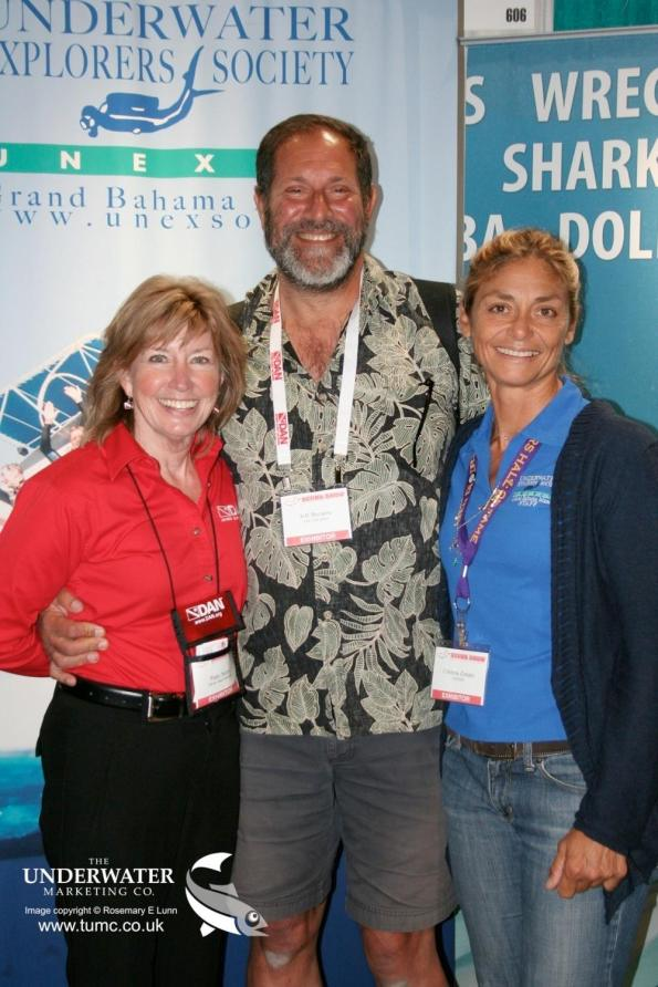 Patty Seery, Jeff Bozanic, Cristina Zenato, Our World Underwater Scholarship, Women Divers Hall of Fame, WDHOF, Long Beach Dive Show, The Scuba Show, Rosemary E Lunn, Roz Lunn, The Underwater Marketing Company,