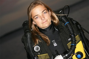 Nathalie Lasselin, underwater cinematographer, Urban Water Odyssey, Women Divers Hall of Fame, WDHOF, Beneath The Sea Show, TDI, female rebreather diver, Fourth Element, Rosemary E Lunn, Roz Lunn, The Underwater Marketing Company,