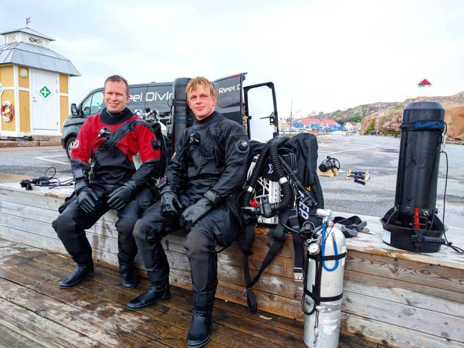 Reel Diving, OWUSS Rolex Scholar, Oscar Svensson, Johan Enqvist, Ammonite, Cressi, Halcyon, Hugyfot, Nanight, Santi. Suex scooters, Rosemary E Lunn, Roz Lunn, The Underwater Marketing Company, scuba diving news, Nordic, Sweden, Norway, Finland, Sweden